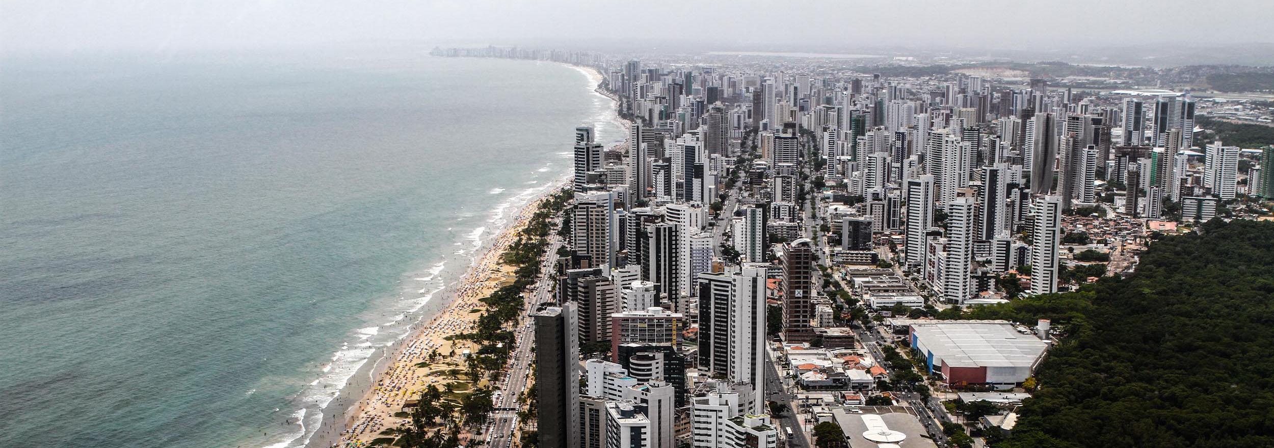 Praia de Boa Viagem - Foto: Marcos Pastich/PCR